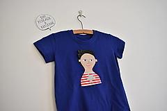 Tričká - Pískacie a reflexné tričko - Chlapček - 12722922_