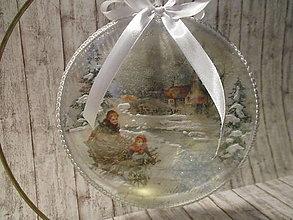 Dekorácie - Vianočná dekorácia - 12723229_
