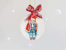 """Dekorácie - Vianočná ozdoba """"Luskáčik"""" - 12718677_"""