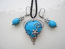 Sady šperkov - Tyrkysová - 12722932_