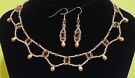 Sady šperkov - Zlatý set - 12719321_