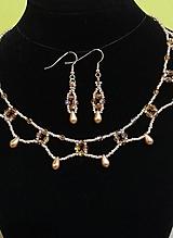 Sady šperkov - Zlatý set - 12719322_