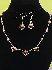 Sady šperkov - Zlatý set - 12719325_