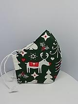 """Rúška - Bavlnené rúška """"vianočné"""" - 12718831_"""