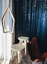 """Dekorácie - Trojset drevenych stojanov na rastliny z kolekcie """"Olaf"""" 2.časť  - 12719780_"""