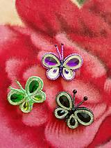 Odznaky/Brošne - Brošňa 13 motýľ - 12719856_
