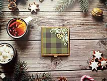 """Krabičky - Vianočné """"pizza"""" krabičky - 12722871_"""