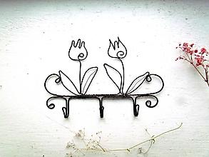 Nábytok - Lúčny vešiak * 14 cm - 12718813_