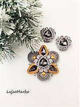 Sady šperkov - Bella sada v darčekovom balení - 12721666_