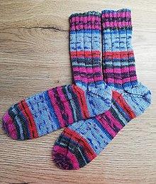 Obuv - Vlnené ponožky - 12720266_