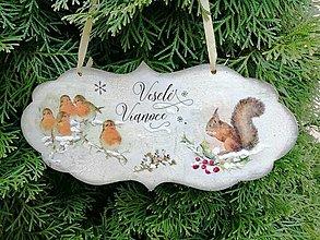 Tabuľky - veselé vianoce 6 - 12718800_
