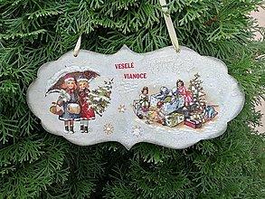 Tabuľky - veselé vianoce 8 - 12718806_