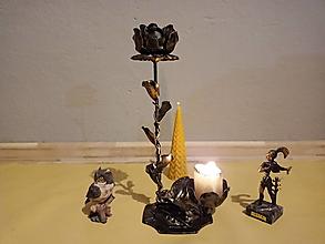 Svietidlá a sviečky - Ruža Lásky - 12726371_
