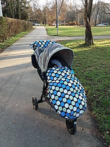 Textil - Zimný set na kočík - 12726663_