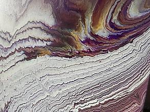 Obrazy - Fialový vesmír - 12725245_