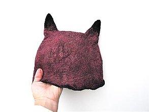 Čiapky - Vlnená čiapka líška - 12725718_