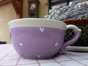 Nádoby - Šálka na polievku ,čaj - 12724367_