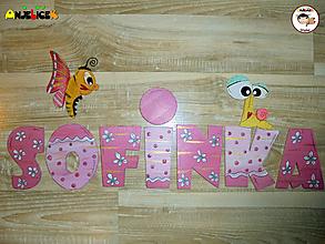 Tabuľky - Nápis - Sofinka - 12724744_