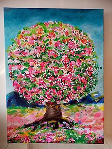 Obrazy - Strom hojnosti - 12723843_