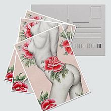 """Papiernictvo - Umelecká pohľadnica """"Desire"""" - 12727917_"""