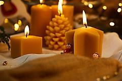 Dobrý obchod - Vianočné voskové sviečky - 12724330_