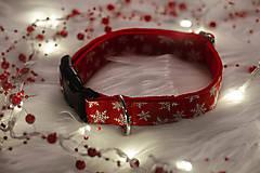 Pre zvieratká - Vianočný obojok SNOW - 12726037_