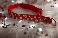 Pre zvieratká - Vianočný obojok SNOW - 12726039_