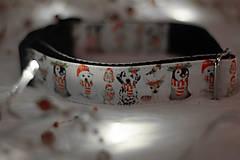 Pre zvieratká - Vianočný obojok ZVIERATKÁ - 12726111_