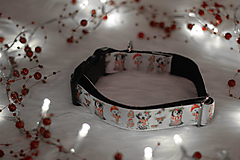 Pre zvieratká - Vianočný obojok ZVIERATKÁ - 12726112_