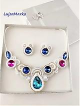 Sady šperkov - Juliana sada v darčekovom balení - 12726472_