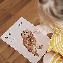 Hračky - Karty Prírodná abeceda  - 12727709_