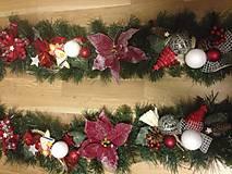 Dekorácie - Vianočna girlanda 3,2m - 12727277_