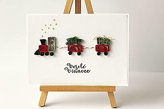 Papiernictvo - vianočná pohľadnica - 12727574_