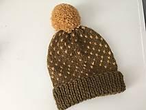 Čiapky - Damska vlnena ciapka - 12732102_