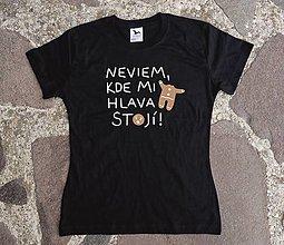 Tričká - tričko pre zaneprázdnených - 12728190_