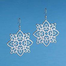 Náušnice - Náušnice ornament vajnory 4 cm - 12730182_
