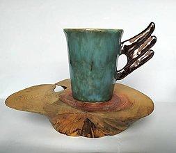"""Nádoby - Originálna keramická šálka  """"Anjelská"""" - 12728750_"""