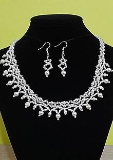 Sady šperkov - Svadobný set - 12719283_