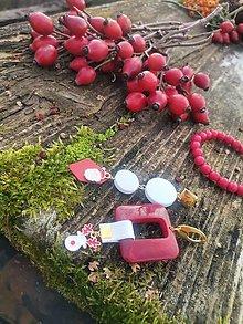 """Náušnice - Vianočné asymetrické náušnice  """"LAU"""" - 12729668_"""