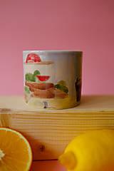 Nádoby - Hrnček z kolekcie Každý deň (Trhovisko s melónmi) - 12731242_
