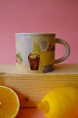 Nádoby - Hrnček z kolekcie Každý deň (Trhovisko s melónmi) - 12731247_