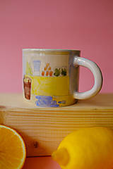 Nádoby - Hrnček z kolekcie Každý deň (Trhovisko s melónmi) - 12731261_