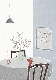 Papiernictvo - Pohľadnica Cozy home - 12733244_