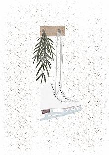 Papiernictvo - Pohľadnica Happy winter II. - 12733263_