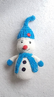 Hračky - Snehuliak 40 cm - 12734710_