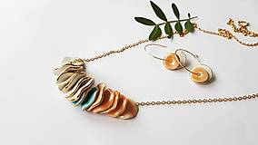 Náhrdelníky - Porcelanový náhrdelník - 12737075_