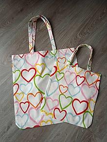 Nákupné tašky - Nákupky pre mamu a dcéru - 12736867_