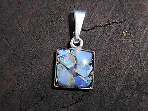 Šperky - cubic and opals - 12737713_