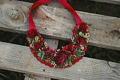 Náhrdelníky - Vianočný náhrdelník - 12733434_