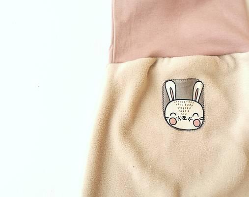 """Flísové nohavice """"zajačik"""""""